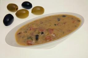 Oliven-Senf-Sauce