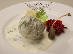 Königsberger Klopse mit Kapern-Sauce